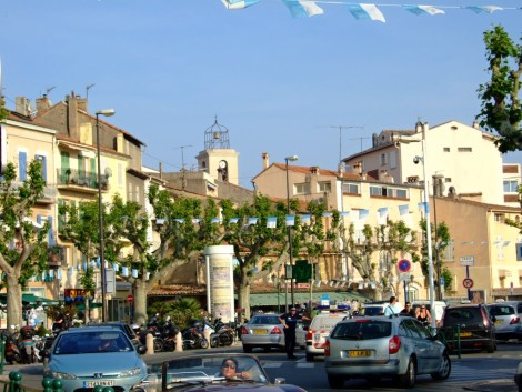 Centrum starého města.